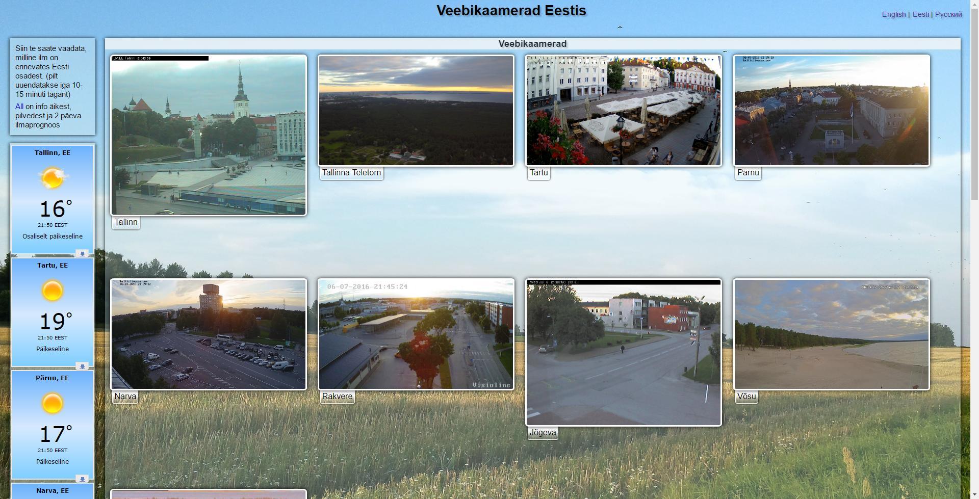 Eesti veebikaamerad